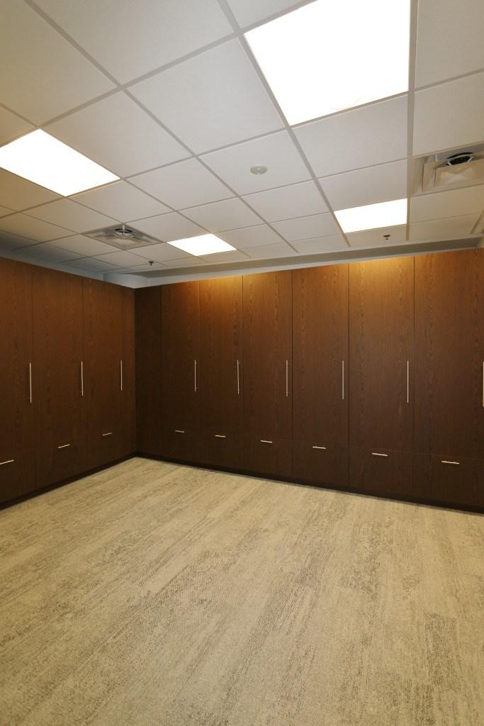 Pepsi Center Nuggets Locker Room Renovation