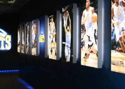 Pepsi Center Nuggets Locker Room Renovation